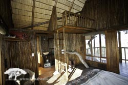 Tree house childrens loft